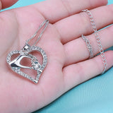 Grandmother's Love Necklace-silver