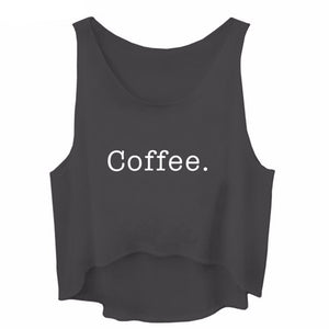 Coffee Crop Loose Fitting Tank Top