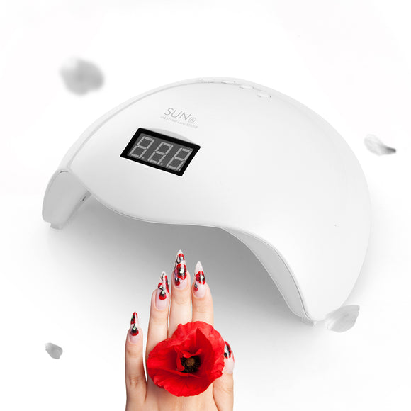 Digital Professional Auto Motion UV LED Light Nail Polish Dryer white color digital nail polish dryer
