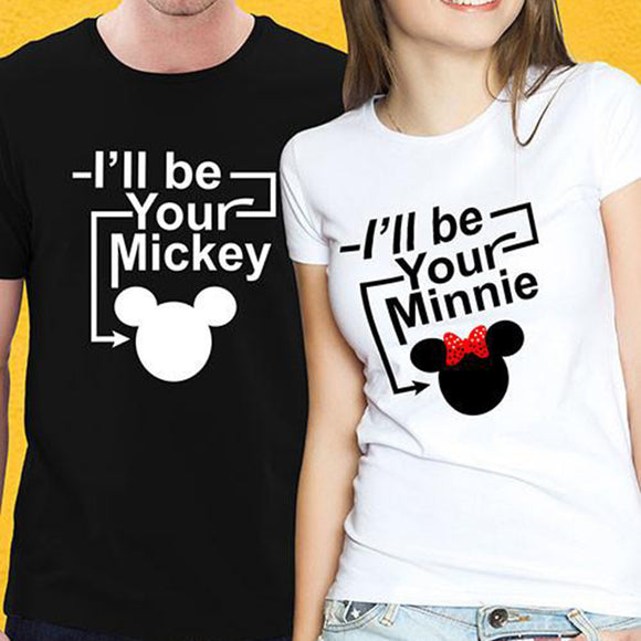 I'll Be Your Mickey Minnie Couple's T-Shirt