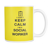 I can't keep calm i'm a social worker coffee mug_yellow