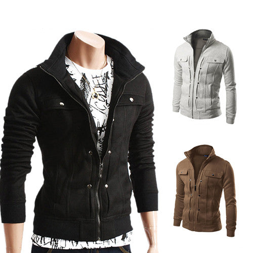 High Quality slim fit Autumn jacket