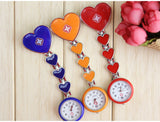 Heart Shaped Nurse Fob Watch