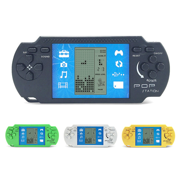 Classic Tetris Handheld Game Portable Handheld Video Game Console - Free + Shipping