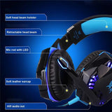 G2000 Stereo HiFi Gaming Headphones With Microphone & Dynamic Trim Lighting