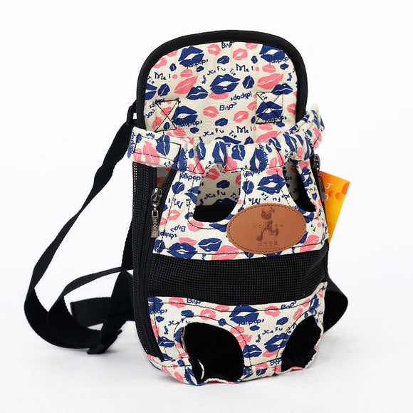 Hands-Free Puppy Backpack Daily Use Dog Carrier