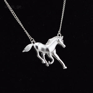 Live Free Horse Necklace