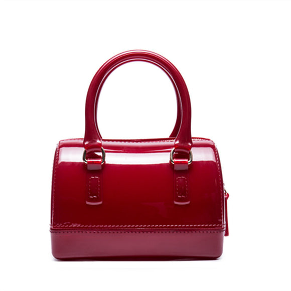 Candy Color Handbag Retro shoulder bag