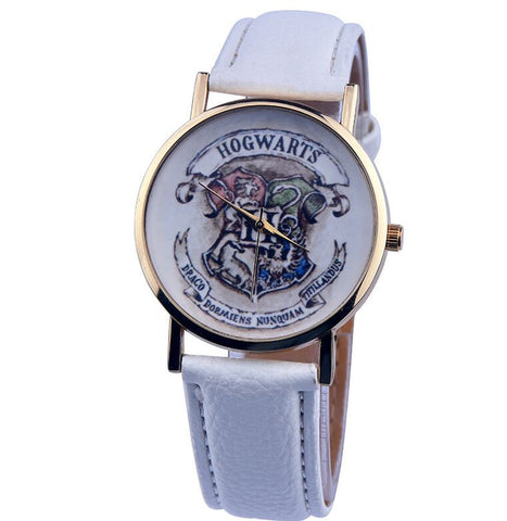 Harry Potter Hogwarts School Quartz Wrist Watch
