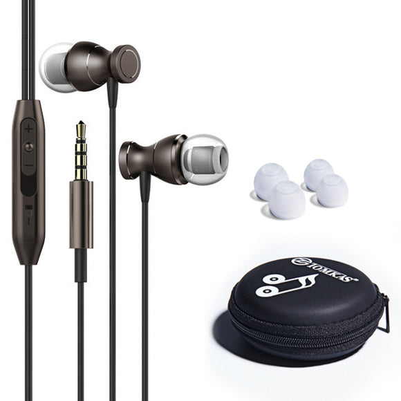 HiFi Clarity Noise Cancelling Earphone w Volume Control for Mobile Phone