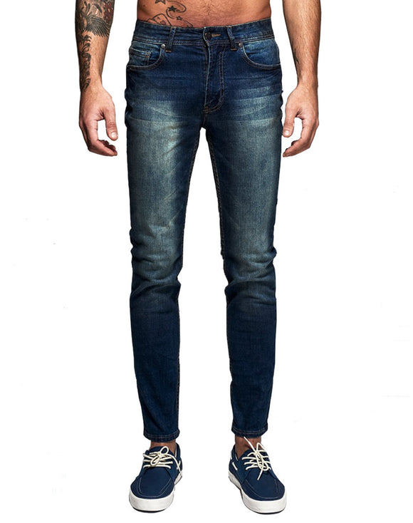 High Quality Italian Style Men's Denim Jeans