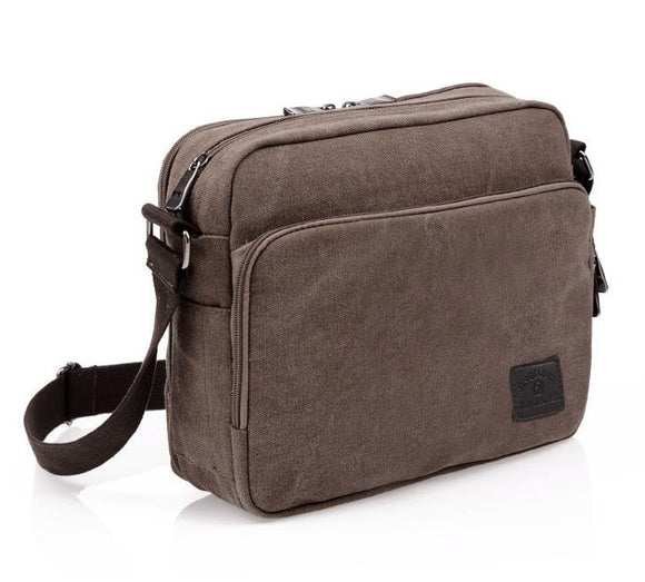Men's Crossbody Messenger Bags coffe color