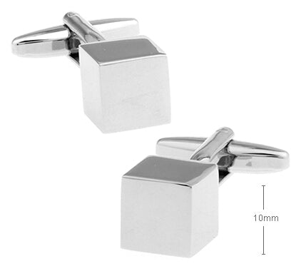 3D Cube Cuff Links