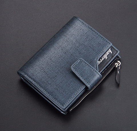 BL men's microfiber leather wallets