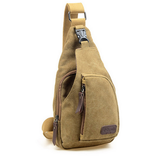 Tactical Military Canvas messenger bag -khaki