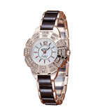 Rhinestone Bracelet Analog Quartz Female Wristwatch Watch