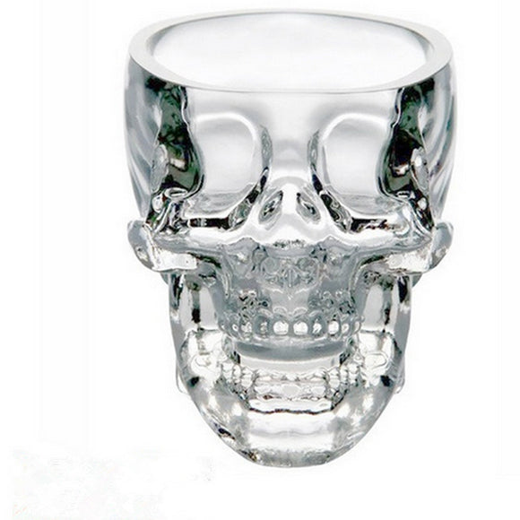 Crystal Skull Head Vodka Shot Glass Cup