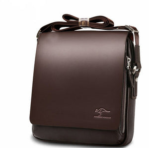 New Kangaroo Brand Messenger Bag Men's Casual Shoulder Briefcase