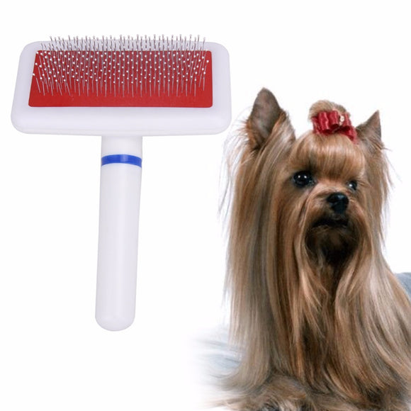 Rake Style Comb Brush for Dogs and Cat Grooming