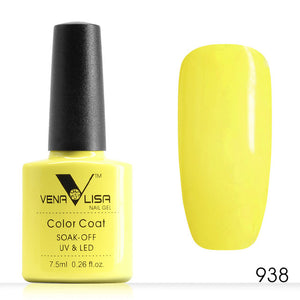 Quality Yellow Color Gel Nail Polish