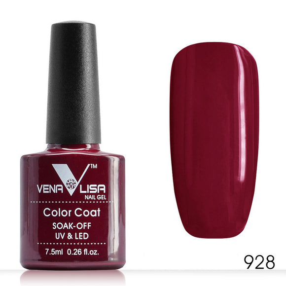Quality Dark Red Color Gel Nail Polish