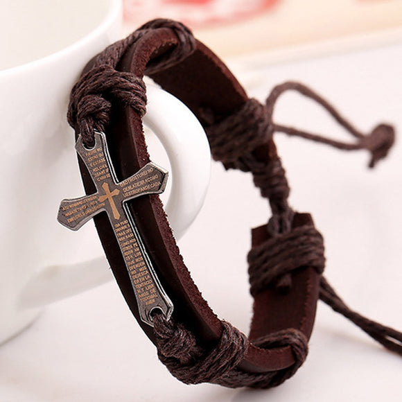 Men's Retro Leather Bracelet
