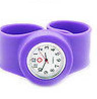 Silicone Snap Clasp Nurse Wristwatch