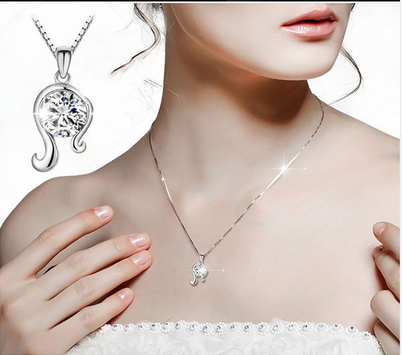 Crystal necklace Austrian Crystal Zodiac Virgo Necklace
