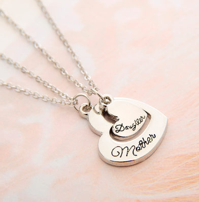 Mother + Daughter Necklace set