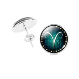 Aries zodiac sign Stud Earrings