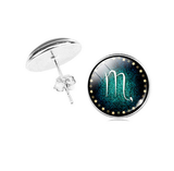 Sagittarius zodiac sign Stud Earrings