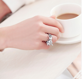 Gold plated Fashionable Horse Ring