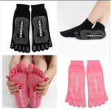 Anti-skid yoga glove socks
