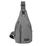 Tactical Military Canvas messenger bag Gray