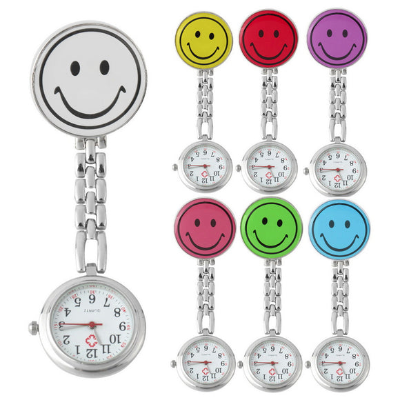 Smiley Face Nurse Fob Watch