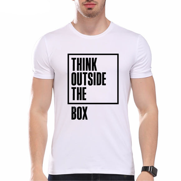 Think Outside The Box T-Shirt for Men