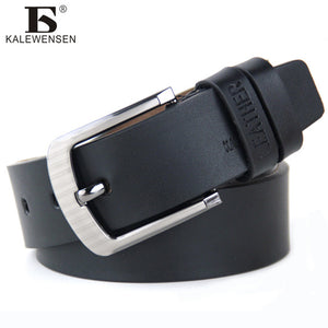 high quality Vintage style genuine leather belts for men 4cm cinturones hombre
