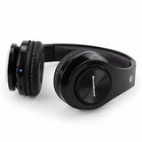 Wireless Bluetooth Foldable Headphones TF card with Mic Microphone