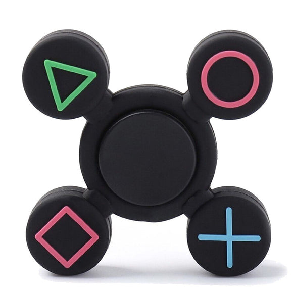 New Fidget Spinners for Gamers w PS Buttons Design