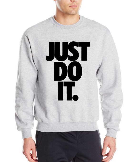Just Do It Autumn Winter Sweatshirts for Men