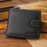Leather Wallets Cash Holder Card Organizer Pocket Wallet Free + Shipping