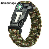 Tactical Multifunction Paracord Bracelet