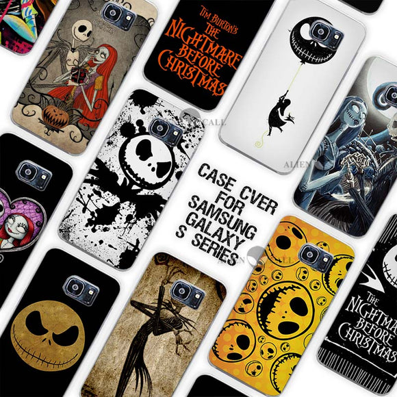 Jack Skellington The Nightmare Before Christmas Samsung Galaxy Phone Case