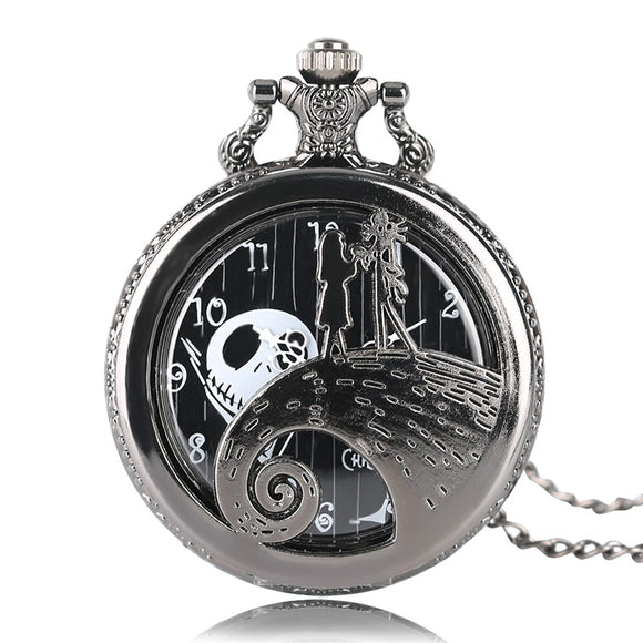 FREE! The Nightmare Before Christmas Jack Skellington Pocket Watch