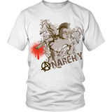 Rebel T-shirts and hoodie with anarchy art design