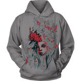 T-shirt and Hoodie with Living art painting
