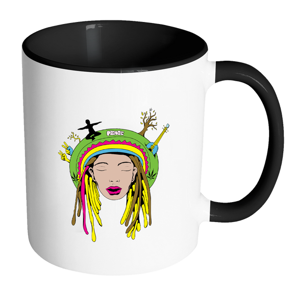 Marijuana Meditation Coffee Mugs