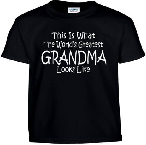 This is What The Worlds Greatest Grandma Looks Like T-Shirt