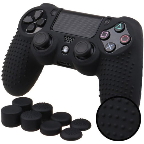 Studded Anti-Slip Silicone Cover for PS4 Controller