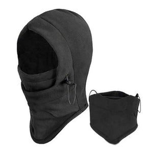 New Arrival Face Mask Thermal Fleece Balaclava Hood Winter Stopper_black